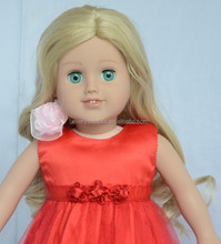 long blonde human hair wig/how to make doll wig/18 doll wigs african american