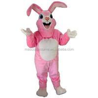 Cosplay cartoon mascot figure of Rabbit pink Rabbit performance under adult clothing