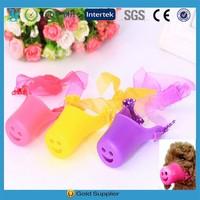 Fashion Soft Pet product Pet Collar Silicone dog muzzle