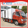 Foton new condition 5TON refrigerated van trucks for sale