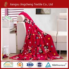 New Design Coral Fleece Blanket Printed Coral fleece Mink Blanket