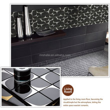 Buliding Material Black and Gold Mosaic Glass