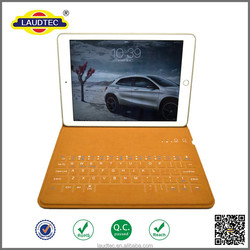 New arrival! Leather case for iPad mini with wireless keyboard