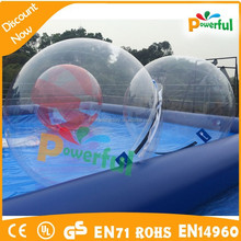 new finished water walking ball bubble zorb,aqua ball,inflatable water walking balls with pool