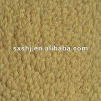 100 Polyester Fake Sherpa Fleece Fabric For Shoe's Lining