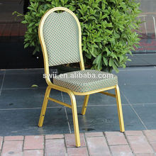 factory price dining chair with aluminum chair frame stacking cafe chair