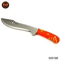 Fixed Blade with camouflage nylon Sheath Unfolding Hunting Knife