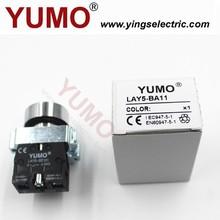 YUMO LAY5-BA11 240V plastic bezel elevator push button switch with CE
