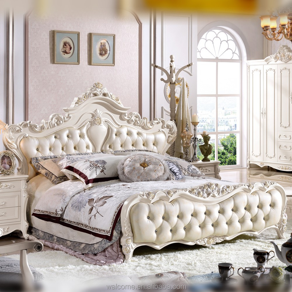 Koningin slaapkamermeubilair set, moderne slaapkamer meubilair set ...