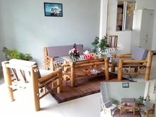 barco de bambu mobiliário cadeira