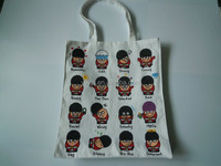 Wholesale China Factory Standard Size Customized Cotton Tote Bag