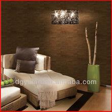 Modern Cork Natural Wallpaper for Living Room