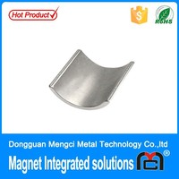 high quality rare earth neodymium arc motor magnets sale