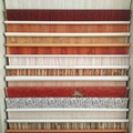 Estratificação folhas preços/papel impregnado de melamina com design de madeira/acabamento porta de folha de papel