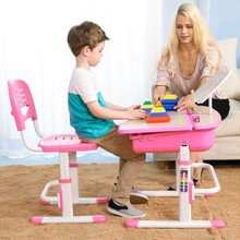 Metal and Plastic Child Study Height Adjustable Table