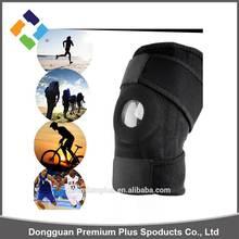 Adjustable Strap Elastic Patella Sports Support Brace Black Neoprene Knee support/brace