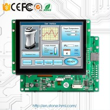 "5"" tft lcd touch screen display with memorym,graphic and character mix display"