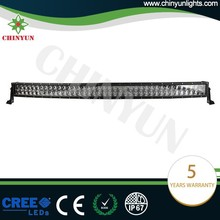 High selling Original Manufacturer Double Row Curved 400W strobe light for truck