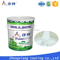 water based latex paint/washable interior wall paint for warm and humid climate