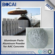 70% solid content aluminium powder paste for AAC block, aerated concrete, light beton, gas added brick