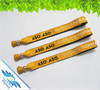 fabric festival wristband with aluminium tube for events---Top selling