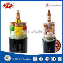 0.6/1kv 120mm 150mm pvc / xlpe insulated copper power cable manufacturer