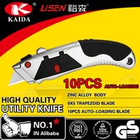 Heavy Duty 10 PCS Auto-loading blade Utility Knife