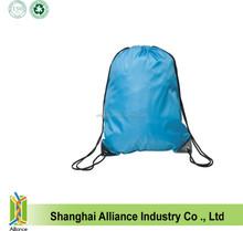 Blue Backsack Backpack Drawstring Gym Book School Bag back pack for kids
