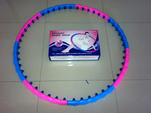 Durable massage hula hoop with magnet