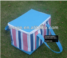 easy carry /eco-friendly cooler bag ,insulated cooler bag with zipper