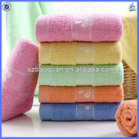 bright colored cotton terry towel/towel 100% cotton
