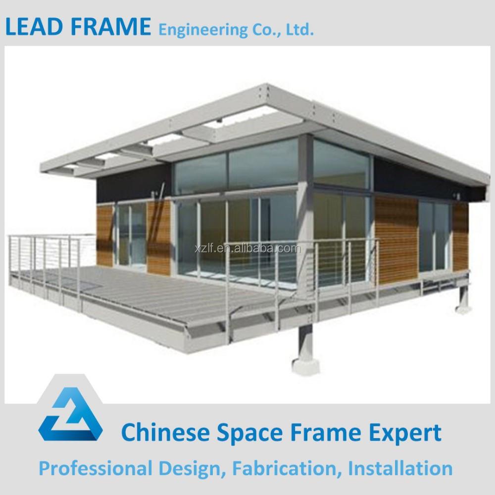 Prefabricated Luxury Steel Frame House Buy Steel Frame
