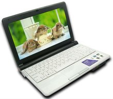Factory offer Mini Laptop $11X WIFI Camera 10.2inch 2G/320G Memory accept paypal