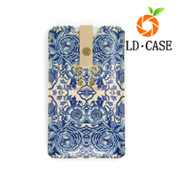 Cheap price Christmas promotion Gift fashionable totem printed leather mobile phone sleeve for Iphone 6S