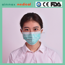 New 2015 Custom Disposable Nonwoven Surgical Medical Printed Face Mask