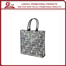 fashion promotional custom laminated non woven pp grocery bag