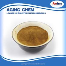 Sodium Lignosulphonate softwood wood pulp,hign pure grade MN-2 water reducer