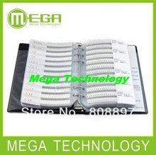 5% 0603 SMD Resistor sample book, 177 values X 50pcs=8850pcs, , Samples kit