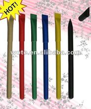 2014 hot selling new design popular recycled paper pen