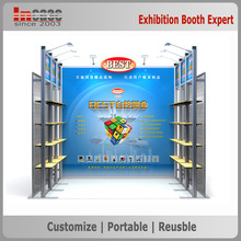 10'x10' Custom quick setup creative trade show display booth