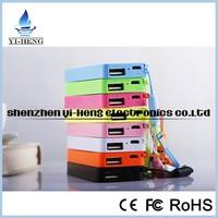 Best quality perfume portable power banks colorful slim 5600 mA power bank 5600mAh