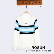 100% de acrílico de moda suéter suéter vestido más- suéter- diseños- para- las niñas