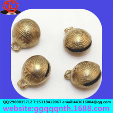 facrory direct sell 16MM tiger head metal bronze Pure copper wind bells Casting of copper bell