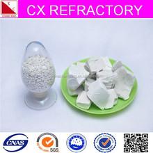white kaolin clay rocks