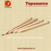 WOOD ballpen with ruler shown/promotional pen