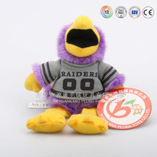 Satefy standard CE/EN71 passed educational toys plush animal shaped hand puppets for baby