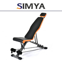 Body Building Abdominal Exercise Machine/Commercial Fitness Equipment/Crunch Bench