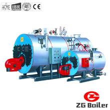 Oil gas hot water boiler low pressure boiler for hotel