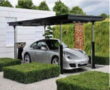Underground parking system for cars with video