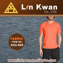 Linkwan Tawian K04-005 spandex yarn high quality jersey knit cycling sportswear fabrics